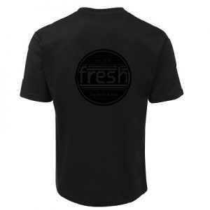 Black SS Tee Back_Black
