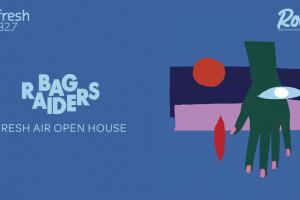 Bag Raiders Open House Web Banner