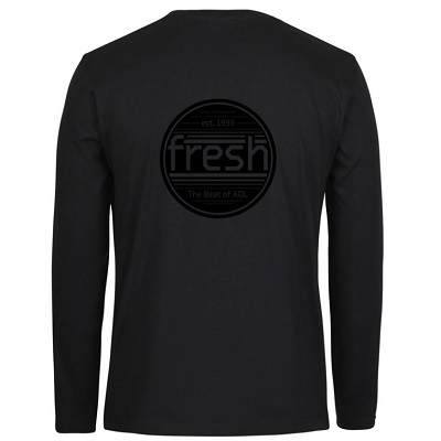 Black LS Tee_Back_Black