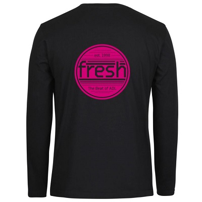 Black LS Tee_Back_Magenta