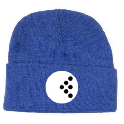 Blue Beanie Fresh Logo