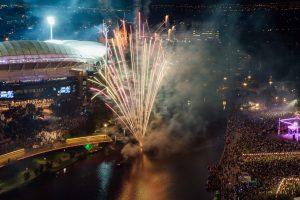 NYE 2016 Fireworks