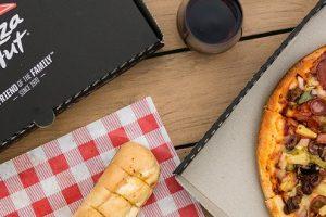 kentucky fried chicken and a pizza hut